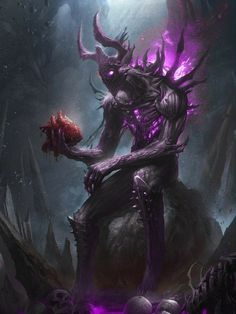 Make contact with the most dangerous demons of history, according to the Church of Satan, and knows the dark side of reality Fantasy Kunst, Dark Fantasy Art, Fantasy Artwork, Dark Art, Fantasy Character Design, Character Art, Fantasy Creatures, Mythical Creatures, Demon Artwork