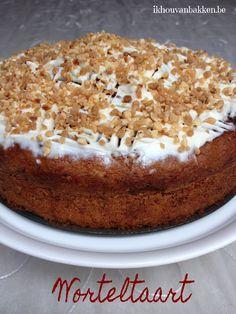 Ik hou van bakken: Mijn topfavoriet : worteltaart ! Cake Recept, Fabulous Foods, Tiramisu, Biscuits, Pudding, Lunch, Ethnic Recipes, Desserts, Om