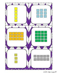 Common Core Multiplication Arrays Matching Game