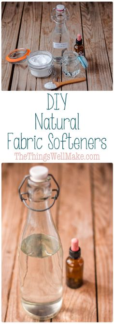 Skip the strong, artificial scents and chemicals in store bought alternatives by using these DIY, natural fabric softeners that are inexpensive, easy to use, and non-toxic.