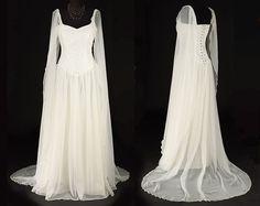 Avalon robe  robe de mariée/mariage par TheDarkAngelDesignCo
