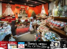 Step back in time at the @NatTrustGsy Christmas Shop at the Folk & Costume Museum in Saumarez Park #LoveGuernsey http://chrisgeorgephotography.dphoto.com/#/album/cbc2cr/photo/20288175 Perrys Guide Ref: Page 15 G1 Picture Ref: 04_12_13 — in Guernsey.
