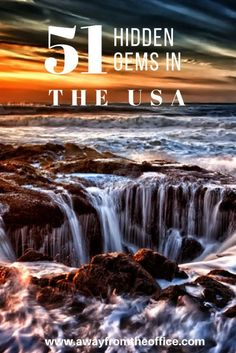 51 hidden gems to visit in America - Dicas: Lugares Incríveis - travel Usa Places To Visit, Places To Go, Us Travel Destinations, Places To Travel, North America Destinations, Camping Places, Beach Camping, Camping Gear, Voyage Usa