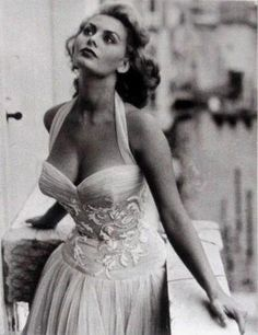 Sophia Loren. 1950s.