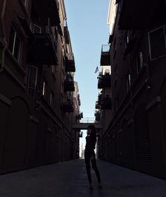 Dancing in alleyways tis all.