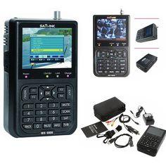 """>> Click to Buy << 2016 High Quality Digital Signal Satellite Meter WS-6906 3.5"""" LCD Screen DVB-S FTA Data Satellite Finder for TV AV #Affiliate"""