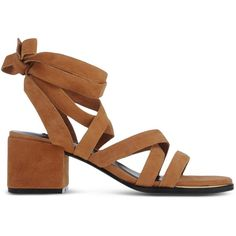 Senso Sandals ($225) ❤ liked on Polyvore featuring shoes, sandals, camel, senso, leather sandals, camel shoes, genuine leather shoes and senso shoes