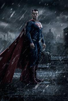 Revelan la primera imagen de Henry Cavill como el hombre de acero en 'Batman v Superman'