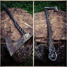 «Последний викинг. Сталь,сварка,ковка, 2015 Длина 850 мм…