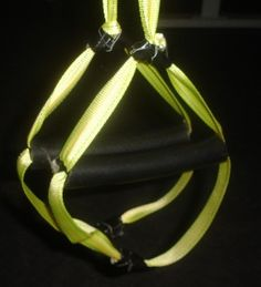 Making your own TRX straps.  Now I can have a home gym with no weights.
