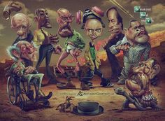Caricatura de Breaking Bad ☆☆