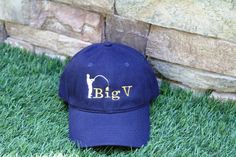 Personalized Visor Made to Order by EmbroideryMark on Etsy    www.embroiderymark.etsy.com