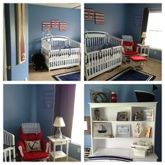 Baby Jake's Almost Completed Nautical Nursery