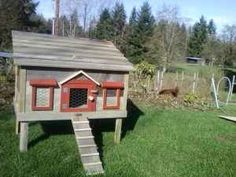 Chicken Coop. - Click image to find more Outdoors Pinterest pins
