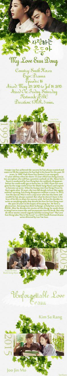 My Love Eun Dong - 사랑하는 은동아 - Korean drama - 16 eps - Viki Korean Drama Series, Watch Korean Drama, Love K, Crazy Love, Yoon So Hee, Joo Jin Mo, Japanese Drama, Korean Entertainment, Watch Full Episodes
