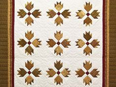 Bear's Paw Quilt .
