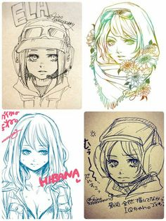 Female Operatives from R6:S (IQ,Hiban,Valkyrie,Ela)