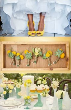 Green And Yellow Wedding | Green and Yellow Wedding LK