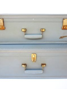ladies vintage purple suitcases - Google Search