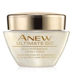 Most people think that you can't stop time, but they haven't tried our #1 selling anti-aging skin care routine. Anew Ultimate Multi-Performance Day Cream has the age-defying, moisturizing properties that you'd expect now with celluvive complex added to the formula. Featuring extract from the Yanang Leaf, this patent-pending formula repairs skin while visibly healing the signs of aging. Use this multi-performance day cream and immediately feel your skin get hydrated and see its newfound...