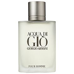 Giorgio Armani - Acqua Di Gio Pour Homme  #sephora  $75 A resolutely masculine fragrance born from the sea, the sun, the earth, and the breeze of a Mediterranean island. Transparent, aromatic, and woody in nature Aqua Di Gio Pour Homme is a contemporary expression of masculinity, in an aura of marine notes, fruits, herbs, and woods.  Notes:  Marine Notes, Mandarin, Bergamot, Neroli, Persimmon, Rosemary, Nasturtium, Jasmine, Amber, Patchouli, Cistus.  Style:  Transparent, modern, and…