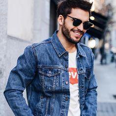 Denim Jacket Outfit Denim Men