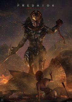 Predator: Origins Assassin's Creed Origins / Predator mashup by mist XG Alien Vs Predator, Predator Cosplay, Predator Hunting, Predator Movie, Predator Alien, Wolf Predator, Les Aliens, Aliens Movie, Aliens And Ufos