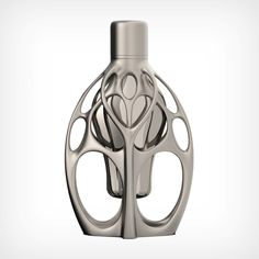 fragrance collection limited edition luxury art-piece FLUID SYMMETRY printed design by Ross Lovegrove Personal Weather Station, Abu Dhabi Grand Prix, Paula Scher, Space Frame, Organic Lines, Yanko Design, 3d Prints, Beauty Case, Bottle Design
