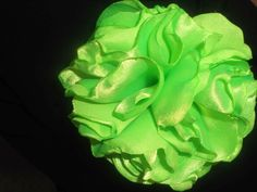 Bright lime green flower $7
