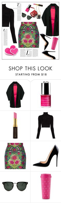 """""""Time out"""" by frenchfriesblackmg ❤ liked on Polyvore featuring Dsquared2, By Terry, Kevyn Aucoin, A.L.C., Gucci, Spitfire, Kate Spade and brendariley"""