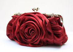 Just like taking a rose!  #handbag  #evening purse