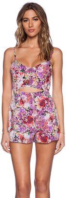 Lucca Couture Romper - Shop for women's Romper - Magenta Floral_WR20 Romper