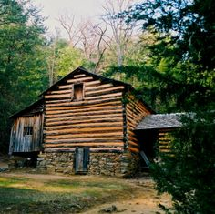 A beautiful cabin in Cades Cove. Have you been here?