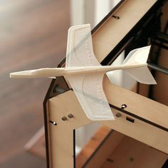 3D Printable Super Stratos Glider by Handmade By Robots At threedsy.com