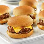 French Onion Sliders for New Years Eve