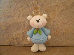 Polar Bear Christmas Ornament.