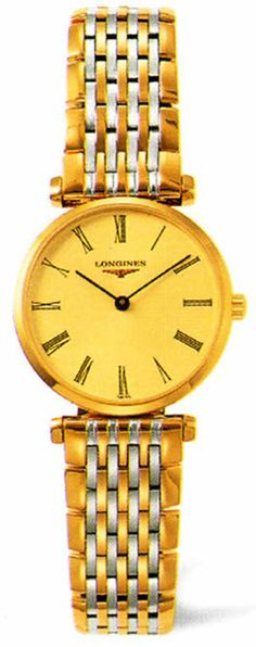 Longines Watch La Grande Classique de Longines Ladies #bezel-fixed #buckle-type-deployment #case-depth-5mm #case-material-yellow-white-gold #case-width-24mm #delivery-timescale-1-2-weeks #dial-colour-gold #gender-ladies #luxury #movement-quartz-battery #official-stockist-for-longines-watches #packaging-longines-watch-packaging #sku-lng-211 #subcat-la-grande-classique-de-longines #supplier-model-no-l4-209-2-31-7 #warranty-longines-official-2-year-guarantee #water-resistant-30m