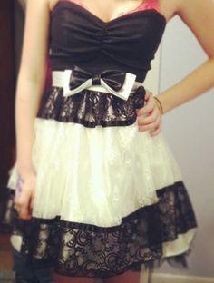 Winter formal dress :)