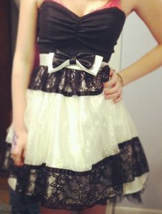 Winter formal dress :)