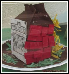 The Three Little Pigs story and project
