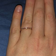 Jewelry & Watches Fine Rings Brave Vintage Style Genuine Morganite Solid 10k Rose Gold Engrave Engagement Fine Ring Superior Performance