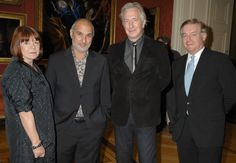 Alan Rickman and Rima Horton at Doris Lessing - Harpercollins and English Pen Reception (2008)