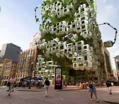 eco pods architectural design