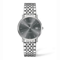 Longines Gents Elegant Automatic Black Dial Watch: £1,110.00