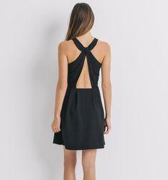 Robe cocktail Femme noir - Promod