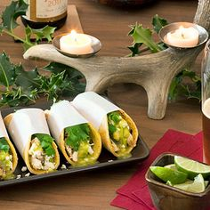 Brew Fest: Street-Snack Tacos Verdes, these finger-food tacos are deceptively easy to make.