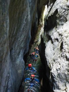 Canyoning in Nevidio Canyon in Montenegro Montenegro, Rafting