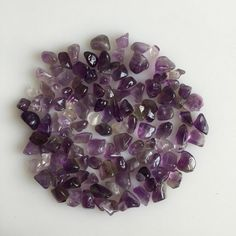 Natural Amethyst Quartz Scoop Tumble Purple Gemstones Loose Lot Polished Mineral Amethyst Quartz, Natural Light, Gemstones, Crystals, Purple, Gems, Jewels, Crystal, Minerals