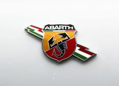 Fiat 500 Abarth, flank badge detail, c2011 by Chappells10, via Flickr