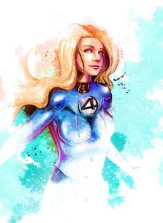 Invisible Woman by ~VVernacatola